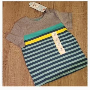 $2 ADD TO BUNDLE! New Striped Baby Boy Shirt